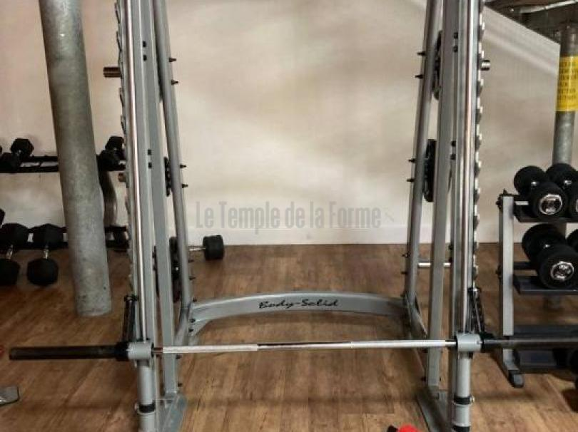 cage guidée SMITH MACHINE