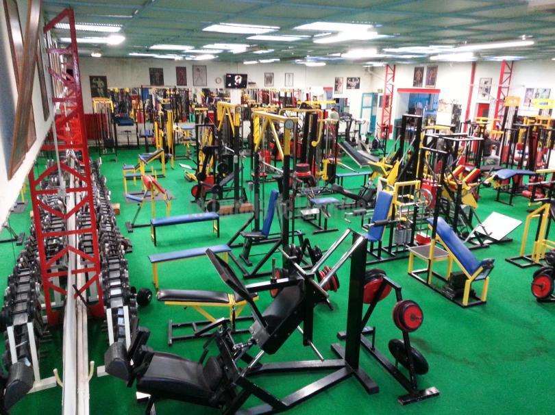matériel musculation-fitness-miroirs
