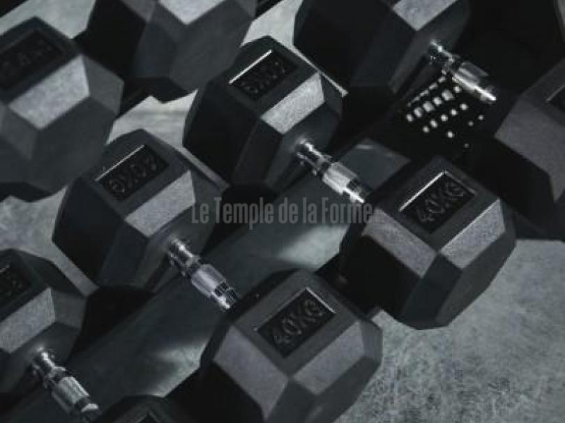 Set halteres exagonales 2,5kg à 40 kg
