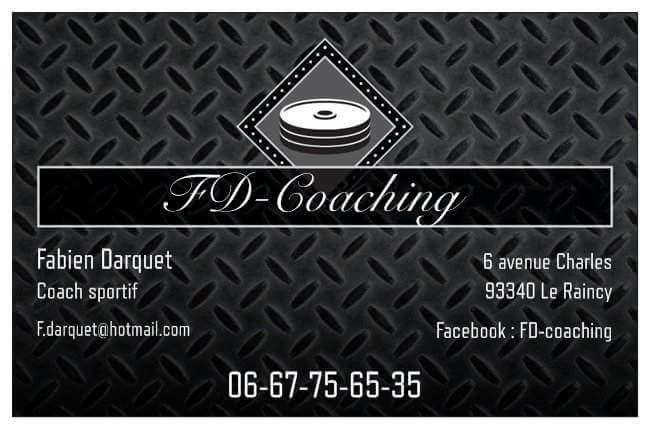 Fabien darquet  coach sportif à Le raincy 93340