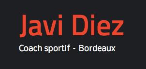 Javier diez coach sportif à Le bouscat 33110
