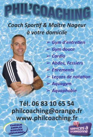 Philippe pouzet coach sportif à Châtellerault 86200